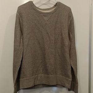 J.Crew vintage fleece oversized sweatshirt